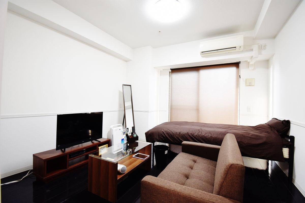 大阪の家具付き賃貸「メゾン・ド・ヴィレ内本町」メイン画像