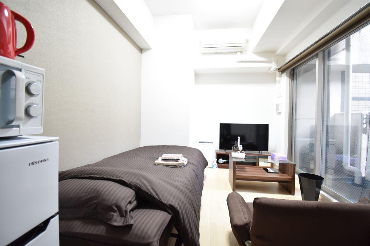 大阪の家具付き賃貸「レジュールアッシュ大阪城WEST」メイン画像