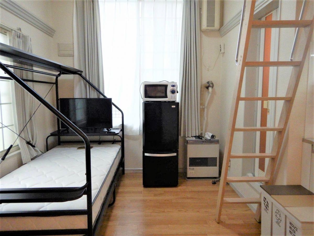 北海道札幌市白石区の家具家電付きマンスリーマンション「N10 1K+ロフト」メイン画像