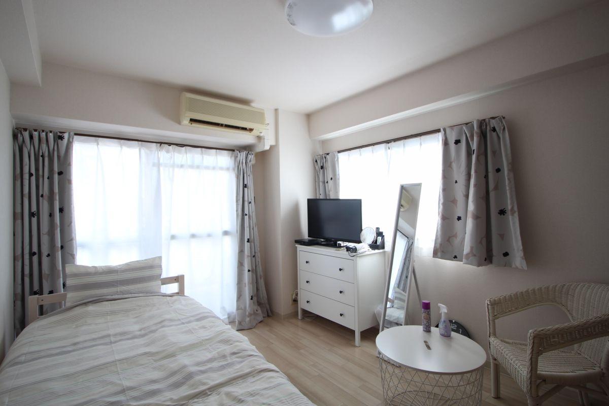 白基調のお部屋で、雰囲気が良いです(*^-^*)