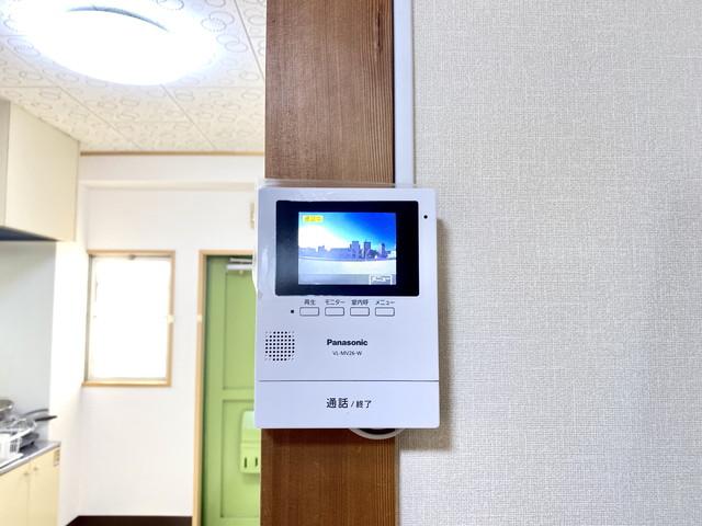 TVカラーモニターホン