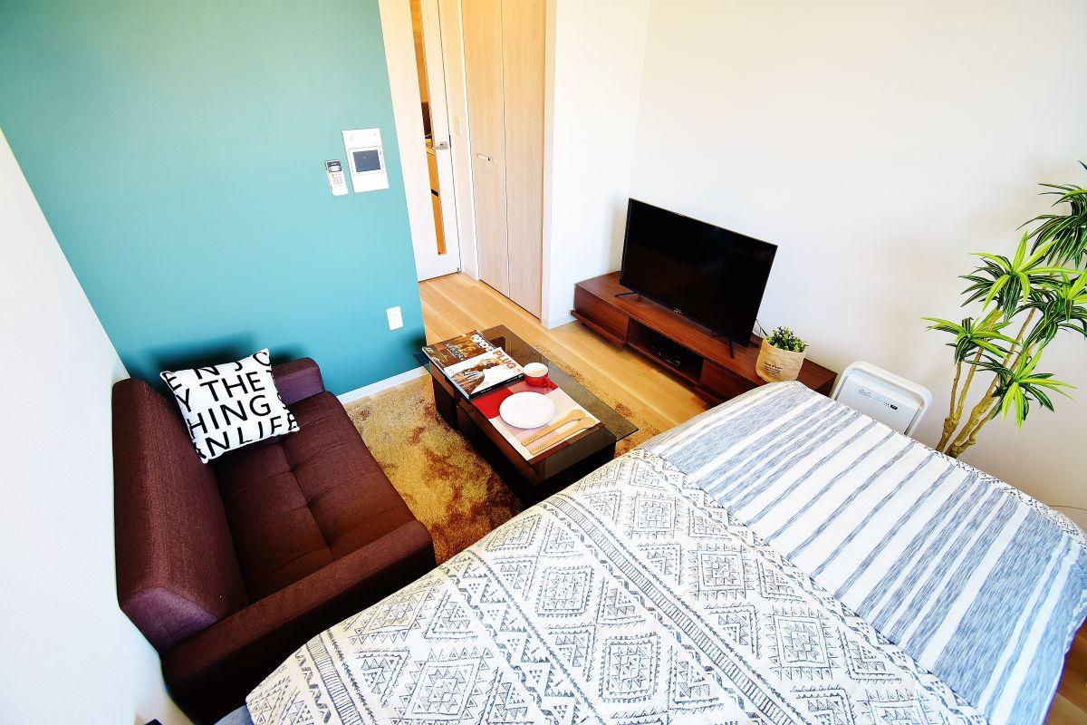 大阪の家具付き賃貸「ファーストフィオーレ難波南パークサイド」メイン画像