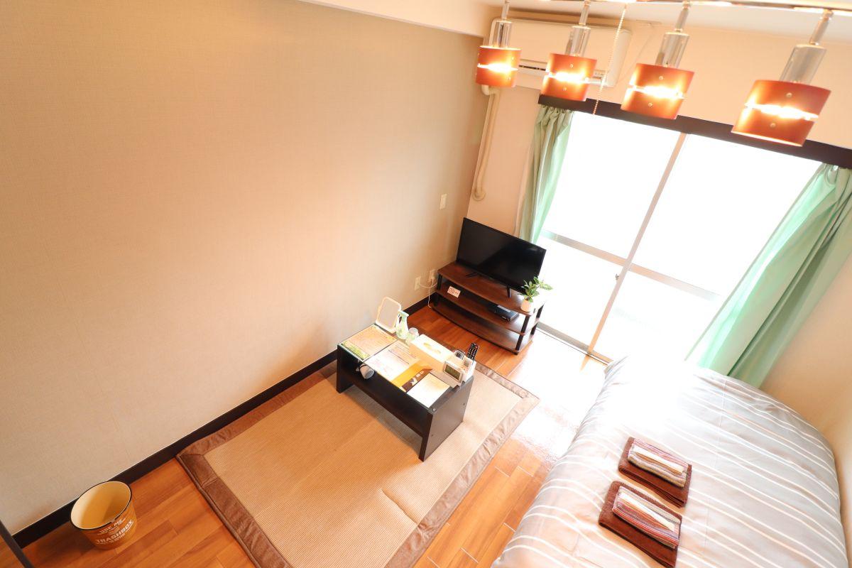 広島のウィークリーマンション・マンスリーマンション「Kマンスリー金屋町 1K-302(No.126176)」メイン画像
