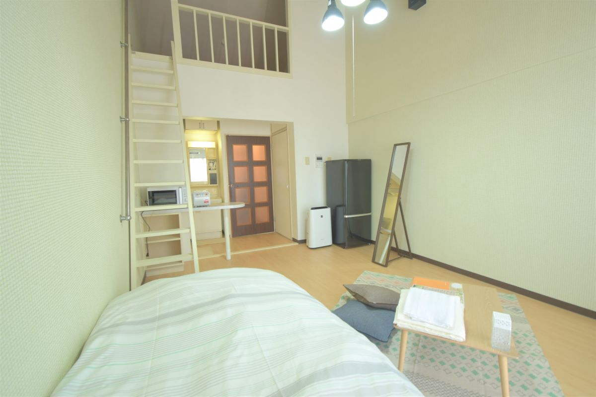 福岡県のウィークリーマンション・マンスリーマンション「Kマンスリー門司 1K-506」メイン画像