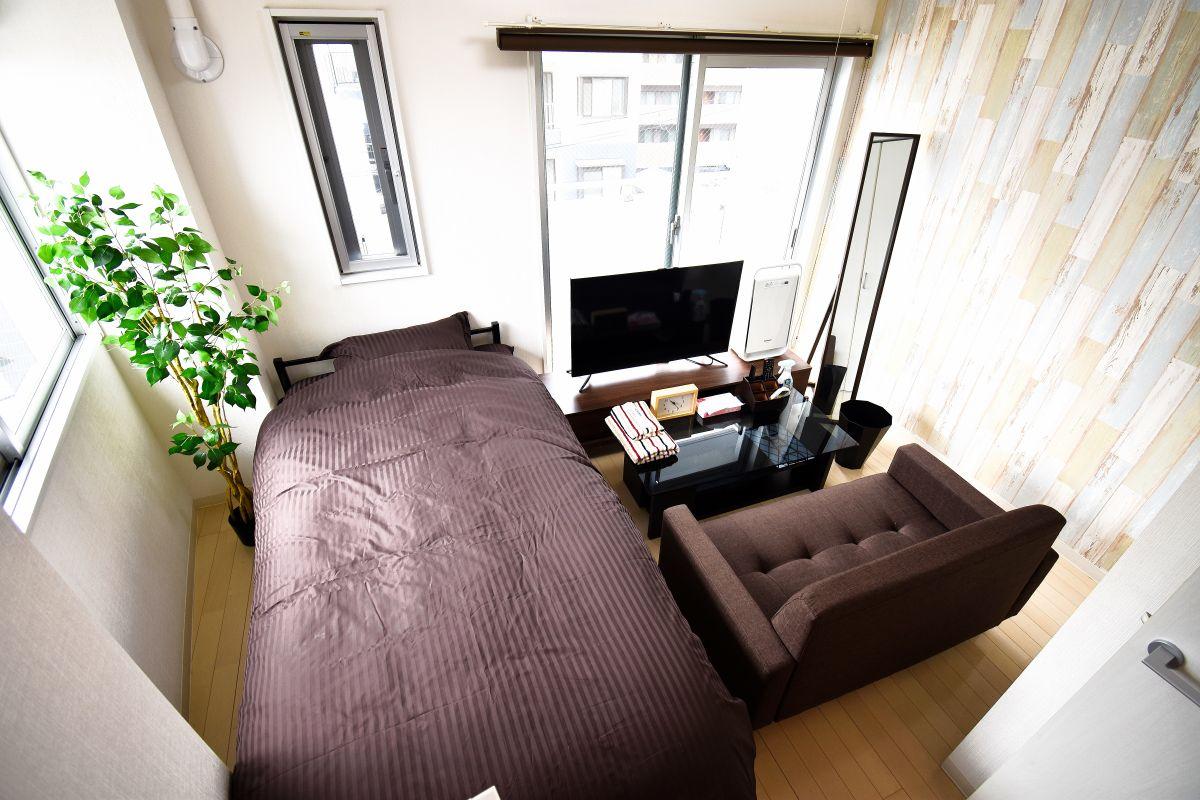 大阪の家具付き賃貸「オズレジデンス福島」メイン画像