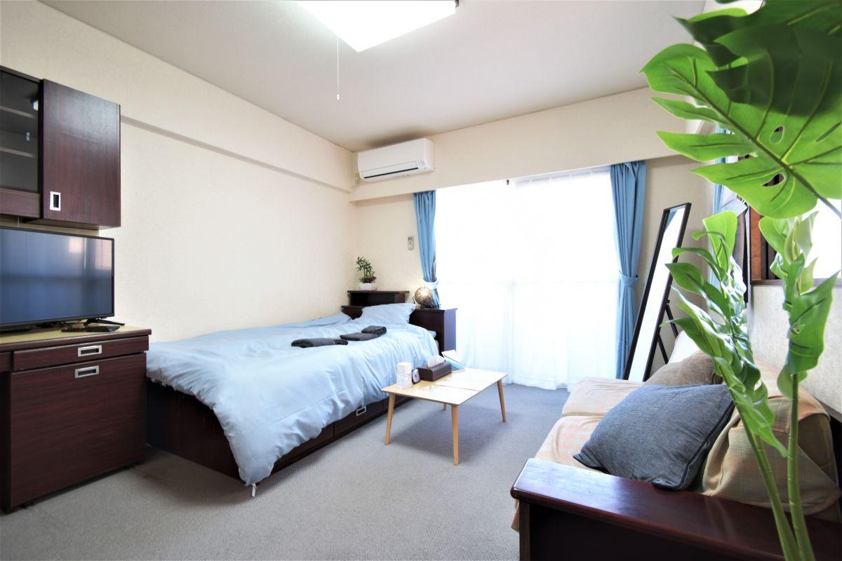 福岡のウィークリーマンション・マンスリーマンション「Kマンスリー天神駅南」メイン画像