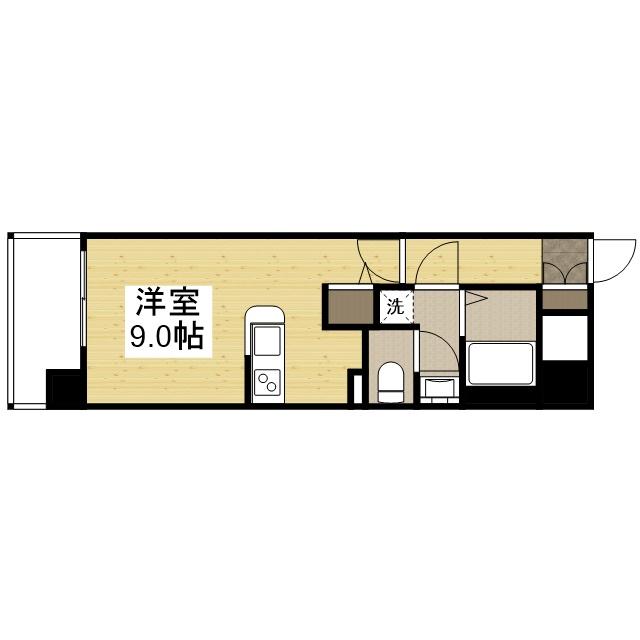 「Kマンスリー新大阪駅南口」間取図画像