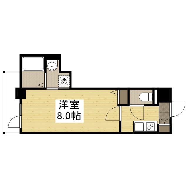 「Kマンスリー神戸兵庫駅南」間取図画像