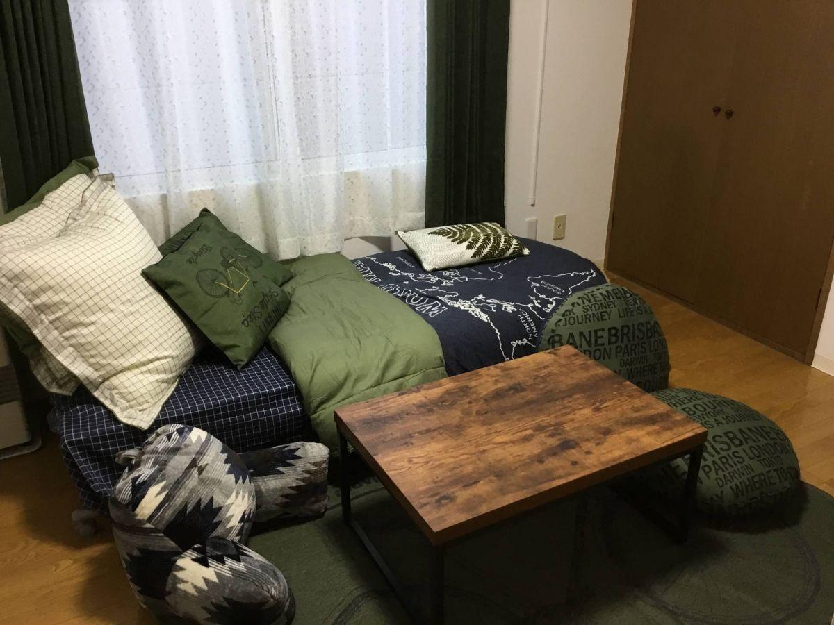 北海道札幌市東区の家具家電付きマンスリーマンション「ゾンネブルーメⅡ 1K」メイン画像