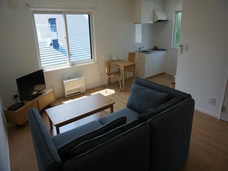 北海道のウィークリーマンション・マンスリーマンション「GREEN PARK HOUSE(グリーンパーク ハウス) 1LDK」メイン画像