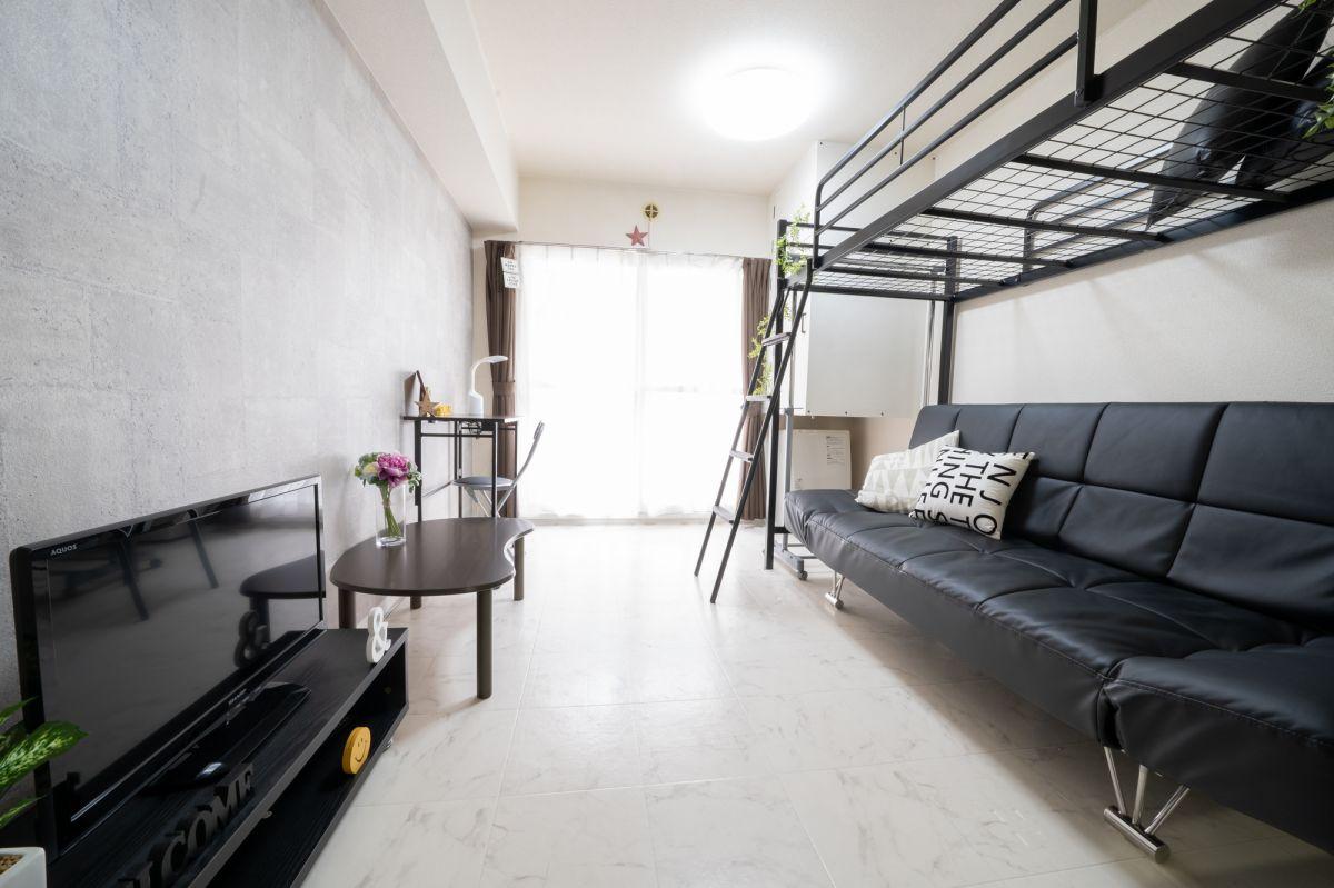 西11丁目駅(札幌市東西線)の家具家電付きマンスリーマンション「ドエル大通 1R Ⅱ」メイン画像