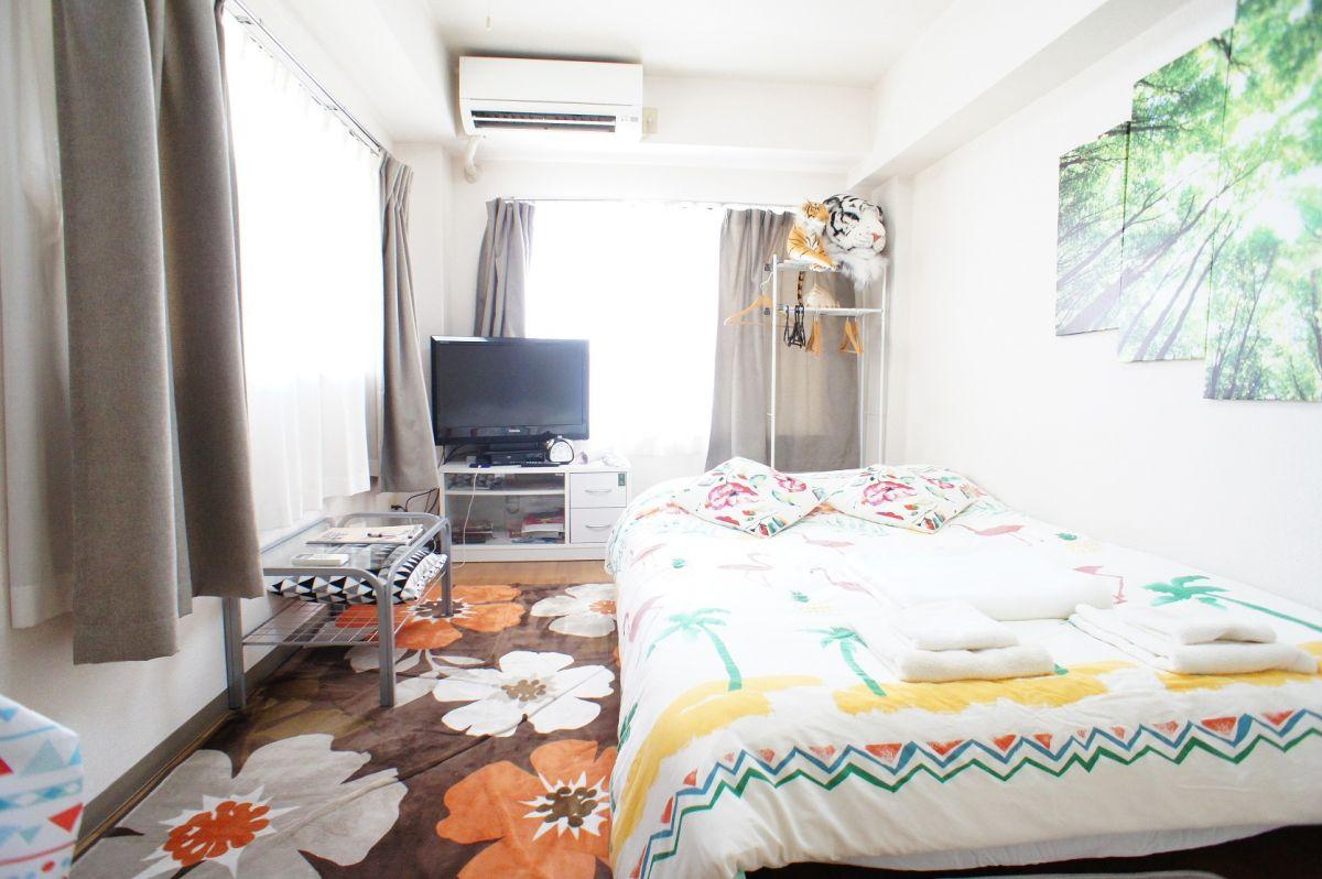 東京都世田谷区のウィークリーマンション・マンスリーマンション「TNS芦花公園 <ダブルベッド> 」メイン画像