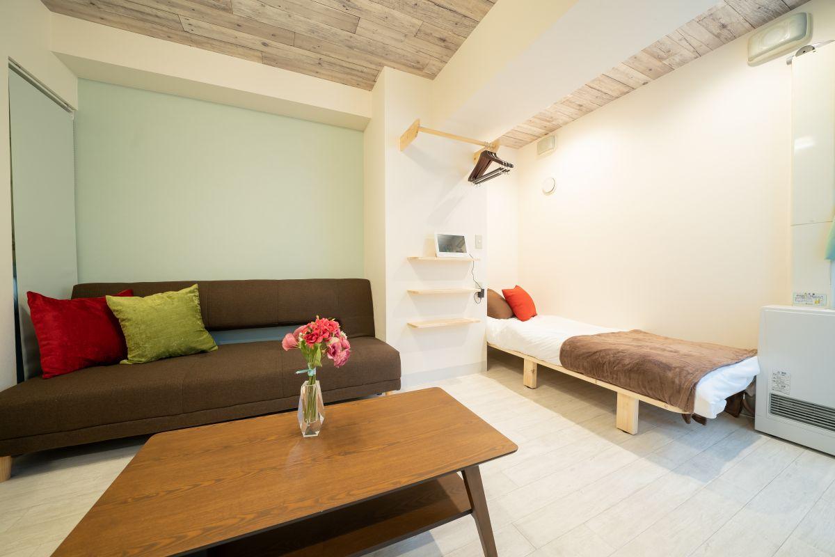 札幌市の家具家電付きマンスリーマンション「ライオンズシティ大通公園 」メイン画像