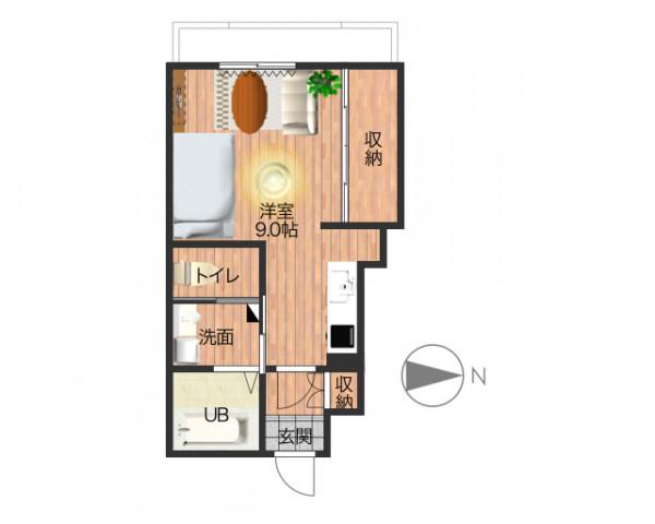 「J-house6」間取図画像