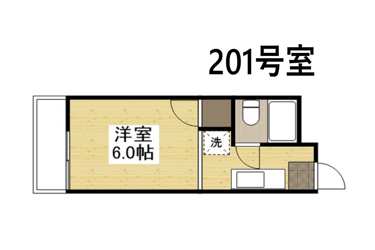 「ビューラー赤坂」間取図画像