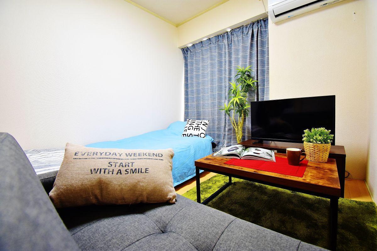 岡山県岡山市北区の家具付き賃貸「ビューラー赤坂」メイン画像