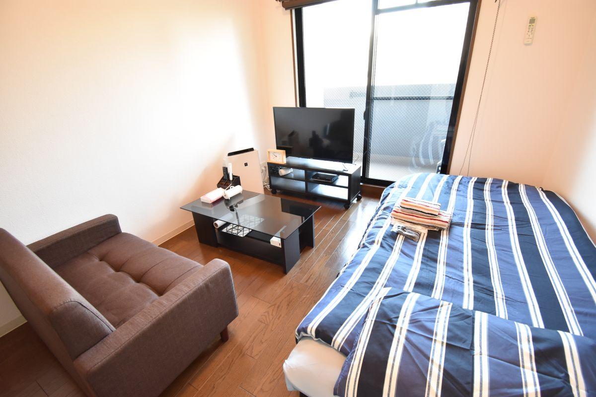 大阪の家具付き賃貸「ユニーブル靭公園」メイン画像