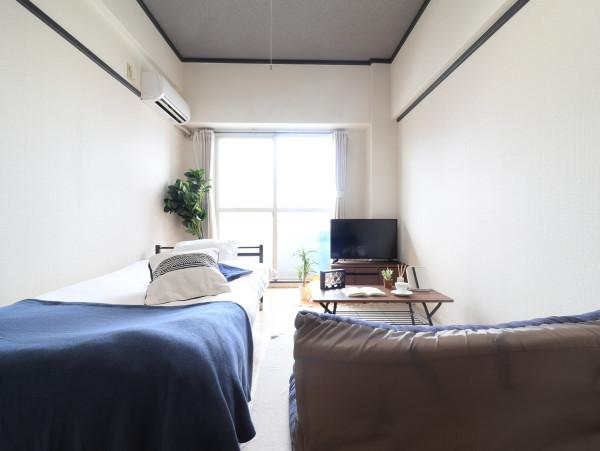 福岡のウィークリーマンション・マンスリーマンション「Kマンスリー香春口三萩野駅 1K-403」メイン画像