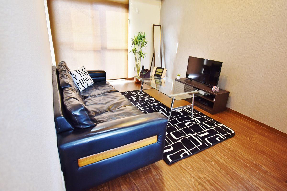岡山県の家具付き賃貸「セレッソ吉岡C棟」メイン画像