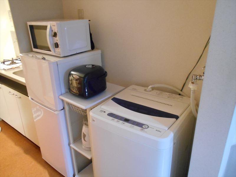 冷蔵庫/洗濯機/電子レンジ/炊飯器