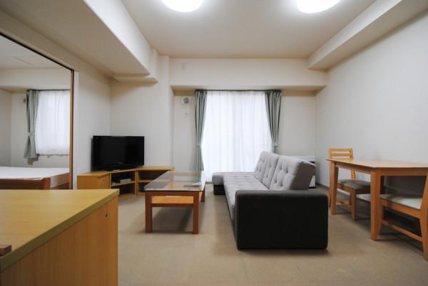 札幌の家具家電付きマンスリーマンション「ノースステイすすきの 603・1LDK(ツイン)(No.129)」メイン画像