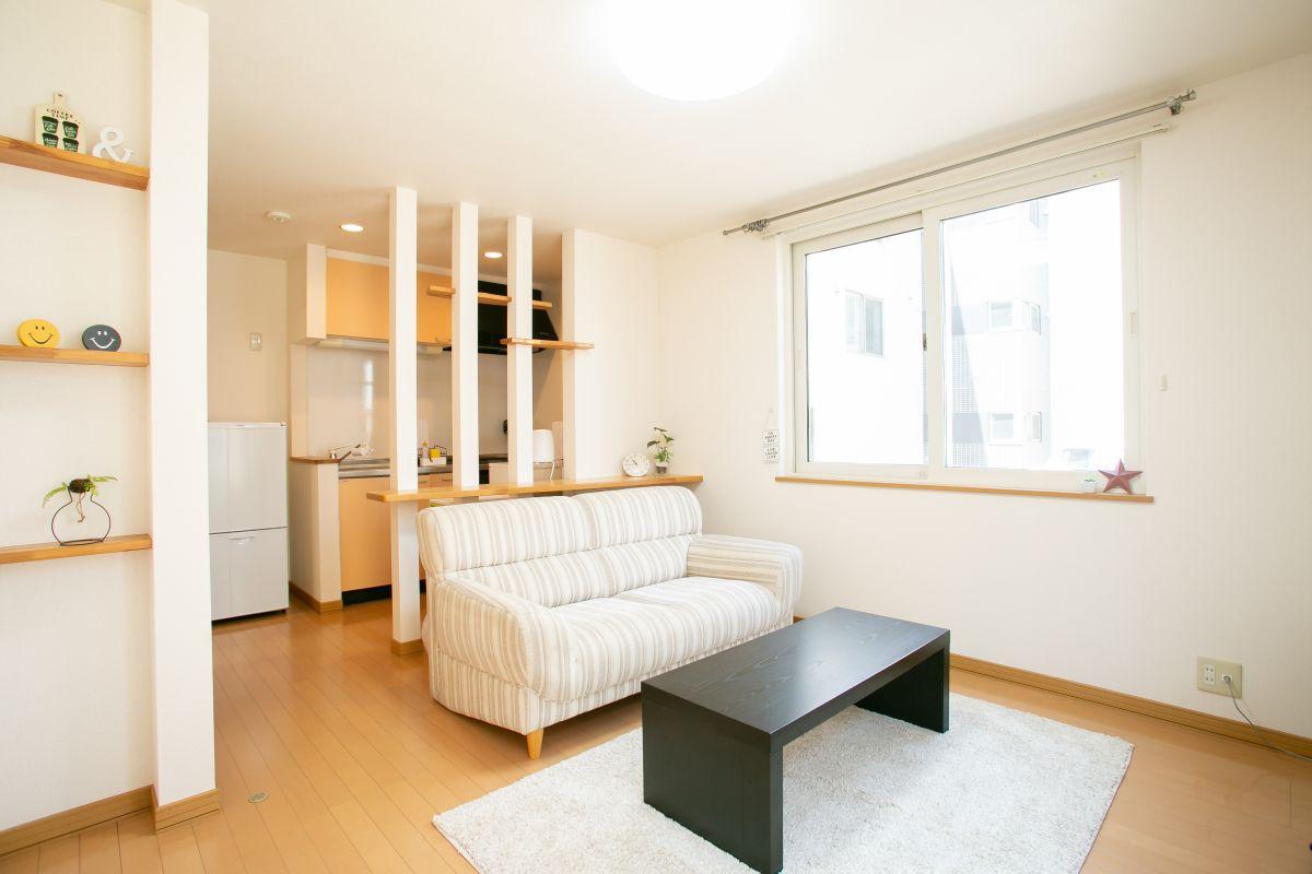 北海道札幌市西区のマンスリーマンション「メイプルマンスリー二十四軒駅前」メイン画像