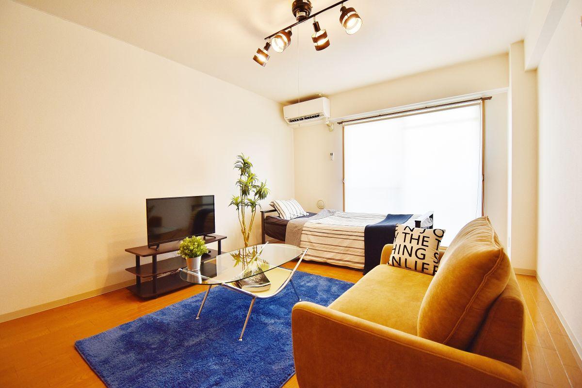 岡山県岡山市北区の家具付き賃貸「Castle Side」メイン画像