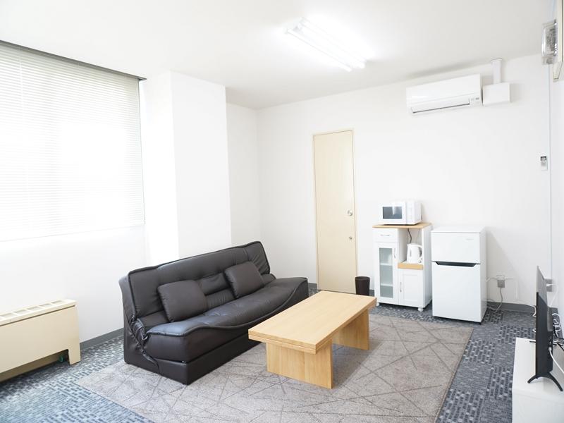 北海道帯広市のウィークリーマンション・マンスリーマンション「ピアザビル 1R」メイン画像