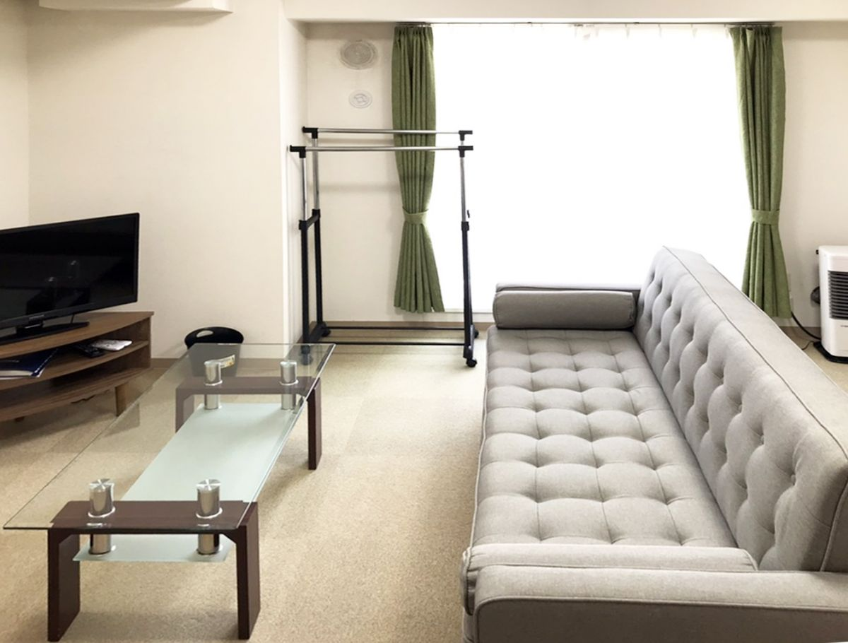 札幌のマンスリーマンション・ウィークリーマンション「ノースステイすすきの 1803・1LDK」メイン画像