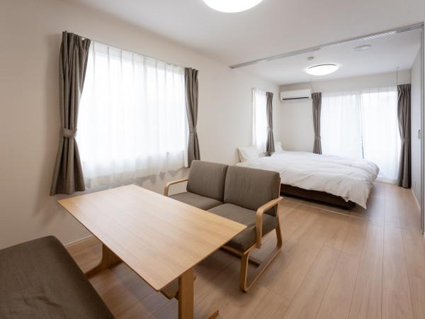 日本全国のウィークリーマンション・マンスリーマンション「BEANS STAY石引 1LDK(No.136460)」メイン画像
