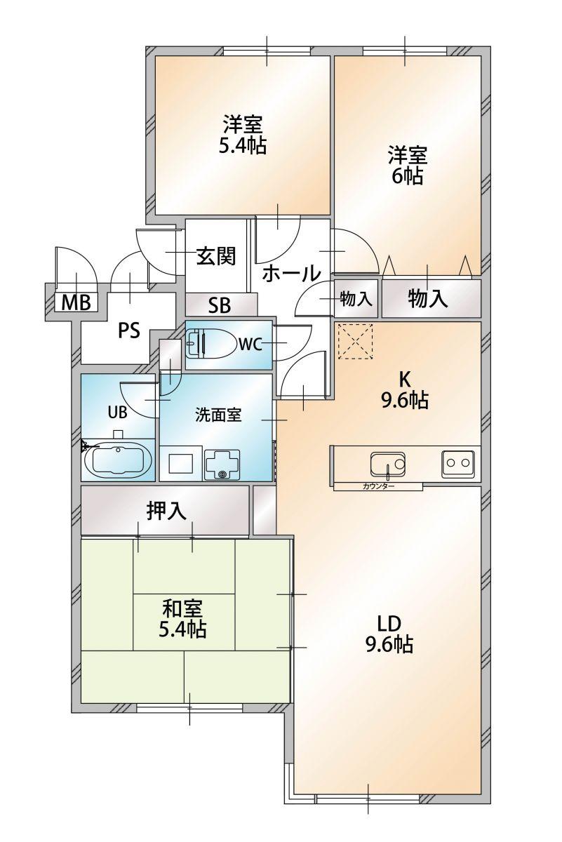「ノースステイ新札幌」間取図画像
