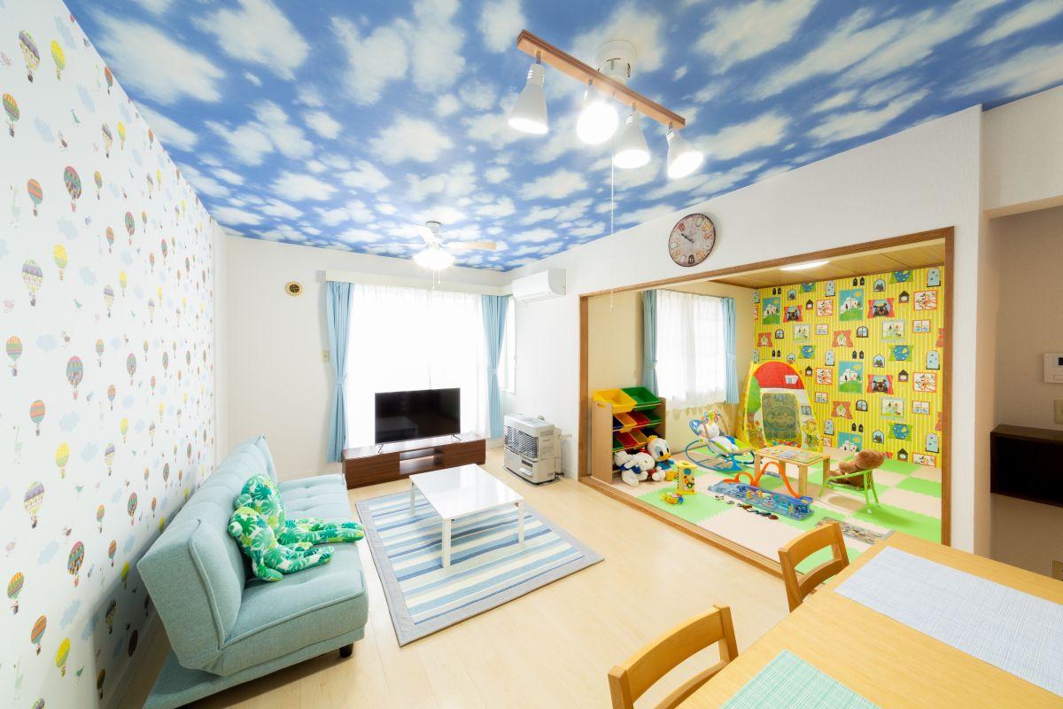 札幌のマンスリーマンション・ウィークリーマンション「ノースステイ新札幌 102・3LDK」メイン画像