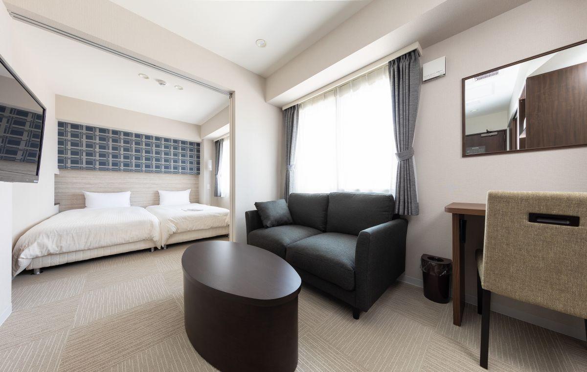 札幌の家具家電付きマンスリーマンション「クラッセステイ札幌中島公園 《1LDK》」メイン画像