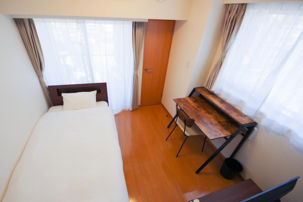東京都荒川区のウィークリーマンション・マンスリーマンション「ユニオンマンスリー西日暮里3 802 1R・シングル」メイン画像