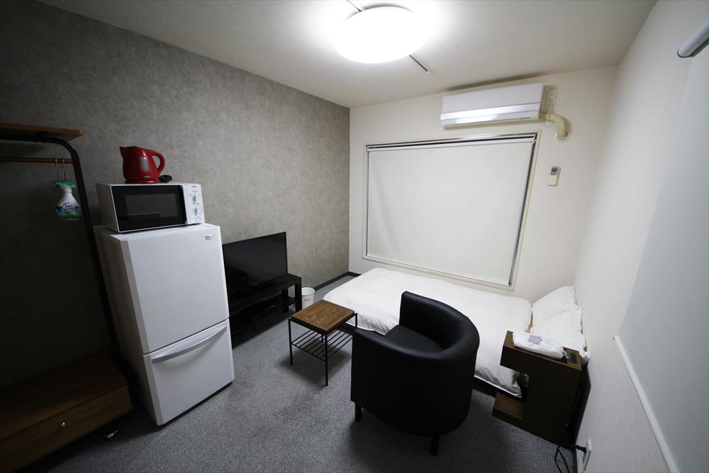 東京都荒川区のウィークリーマンション・マンスリーマンション「ユニオンマンスリー町屋3 205 1R・シングル・くつろぎstyle」メイン画像