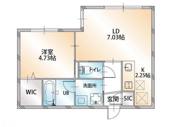 「ノースステイ札幌西口」間取図画像