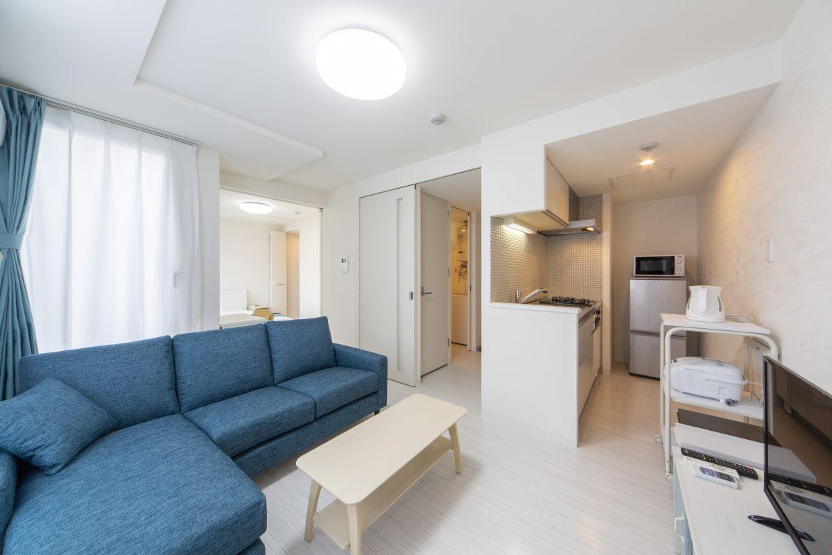 札幌のマンスリーマンション・ウィークリーマンション「ノースステイ札幌西口 205・1LDK」メイン画像