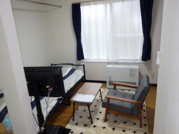 室蘭のウィークリーマンション・マンスリーマンション「大昭グリーンヒル1 1R(No.151183)」メイン画像