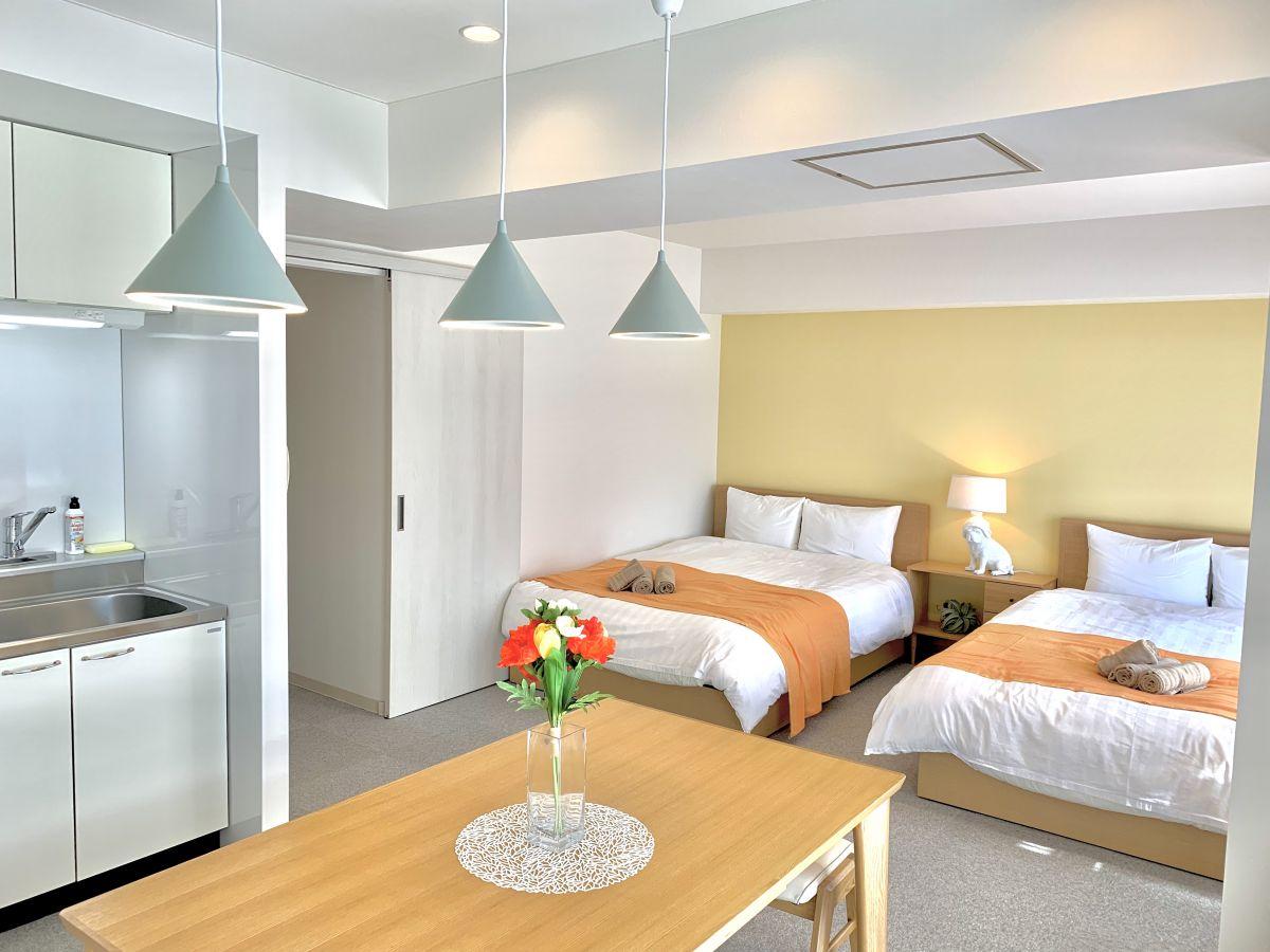 北海道のウィークリーマンション・マンスリーマンション「すすきの南7条MS (50.15㎡) 2LDK」メイン画像