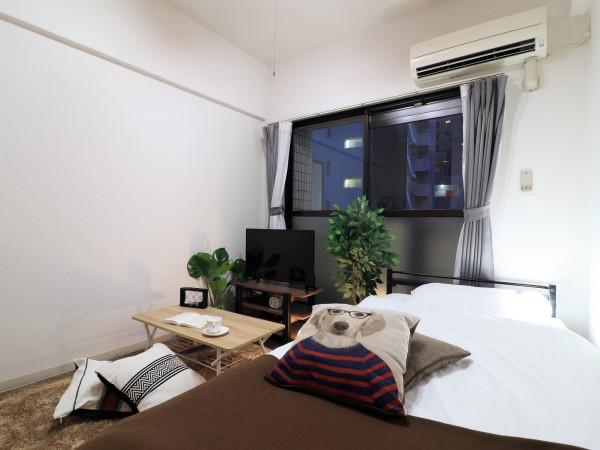 福岡のウィークリーマンション・マンスリーマンション「Kマンスリー西新駅」メイン画像