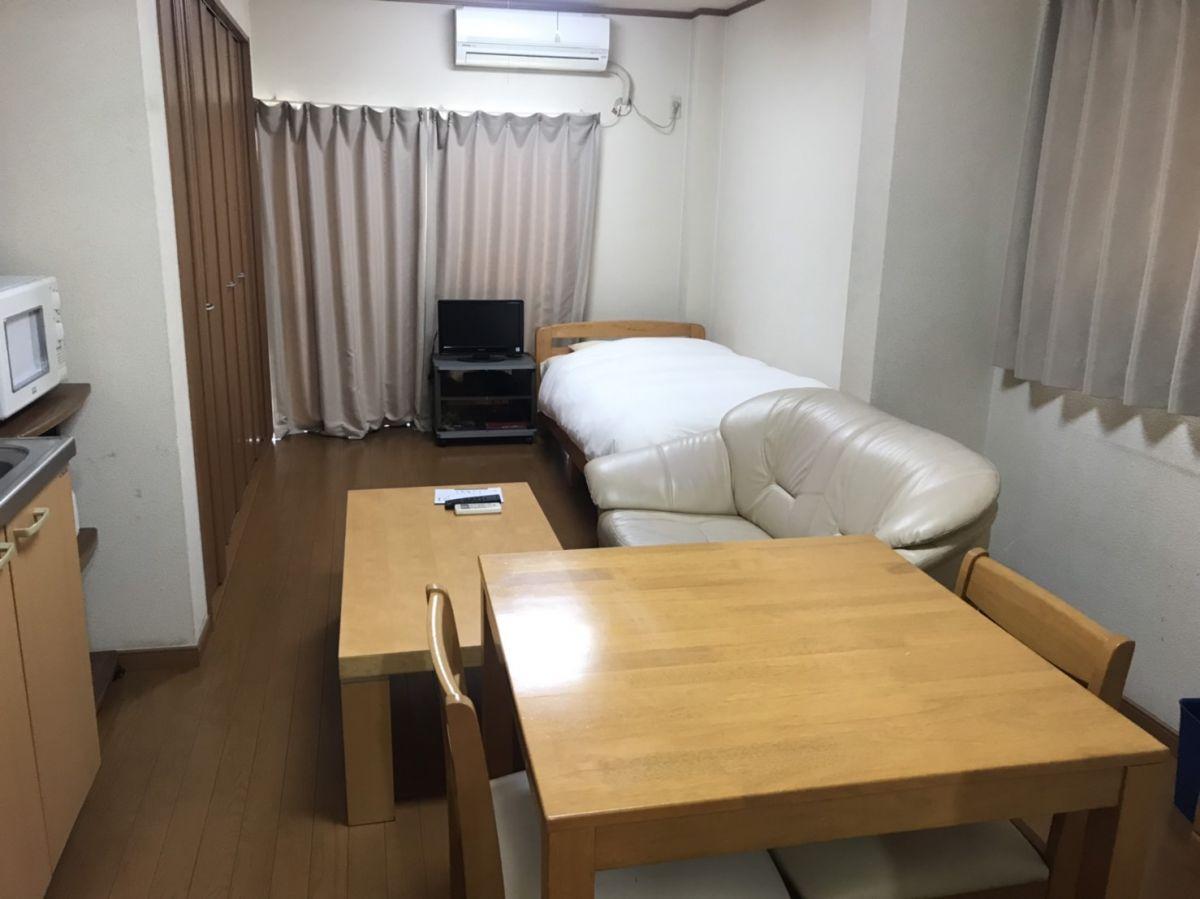埼玉県のウィークリーマンション・マンスリーマンション「eすまい第一ビル蒲生 1R」メイン画像