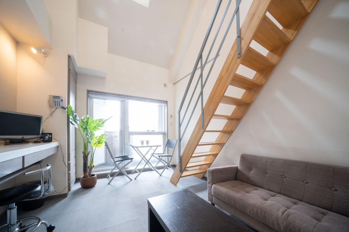 北海道札幌市中央区のマンスリーマンション「メイプルマンスリー南4条」メイン画像