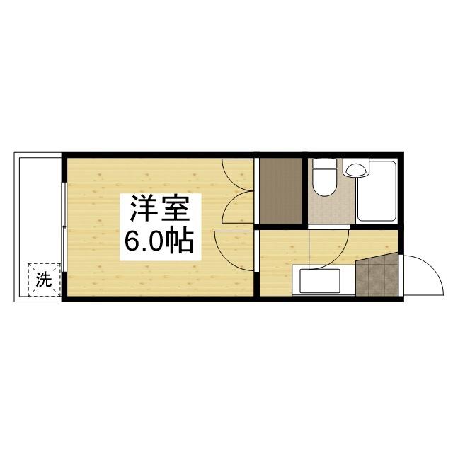「Kマンスリー加東(兵庫教育大学前)」間取図画像