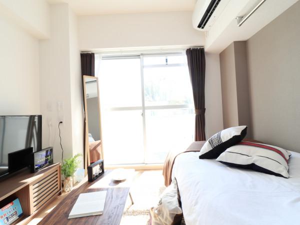 山口県の家具付きウィークリー・マンスリーマンション「Kマンスリー山口中央」メイン画像