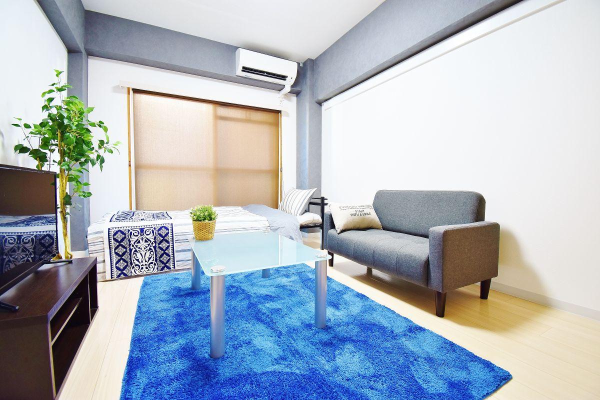 岡山県岡山市北区の家具付き賃貸「K'sB下伊福」メイン画像