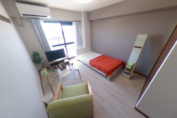 愛知県のウィークリーマンション・マンスリーマンション「HIKURASHI末広 Aタイプ」メイン画像