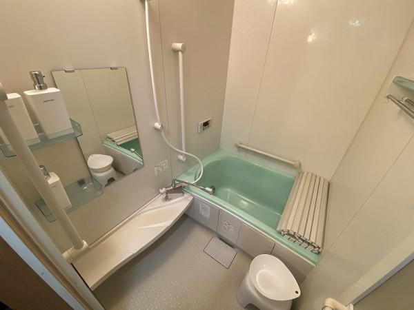 リフォーム済のキレイな浴室