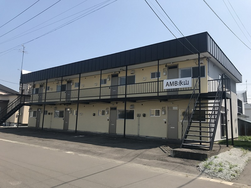北海道旭川市のウィークリーマンション・マンスリーマンション「AMB永山 204 2LDK」メイン画像