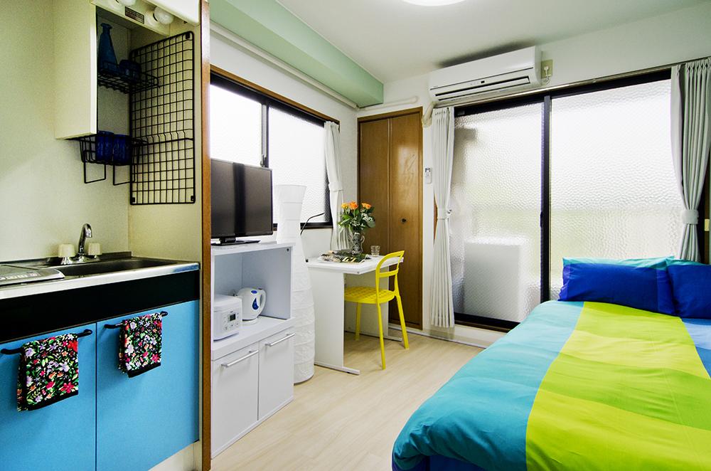 東京都のウィークリーマンション・マンスリーマンション「モダンリビング中野II 」メイン画像