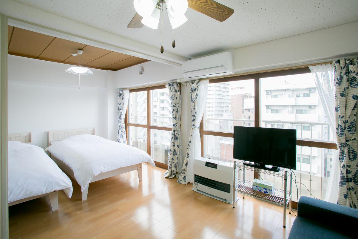 札幌の家具家電付きマンスリーマンション「コミコミ月額CP実施中 ベストステイマンスリーすすきの 2LDK」メイン画像